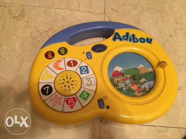 Adibou Lexibook junior ( French educational game)