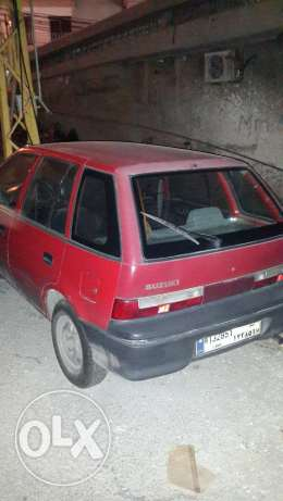 Suzuki swift 1.0 - 3 cylinders - 1996 / 1200 USD (SOLD)
