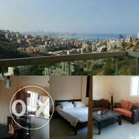 Full furnished in a very good condition in Rabieh or Antelias