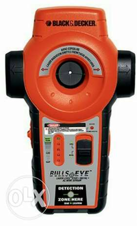 Black&decker laser and metal and wood finder& electric wire iside wall