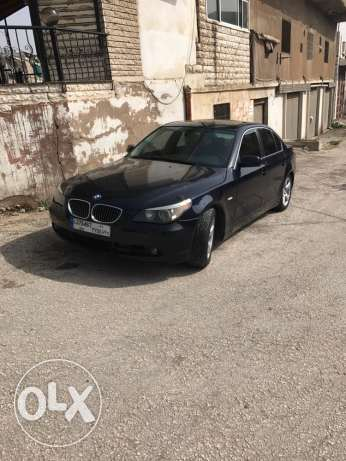 bmw 525 blue black interior leather whith formayca