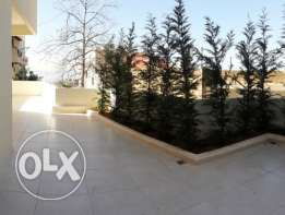 Apartment with terrace and garden for sale Dbayeh SKY292