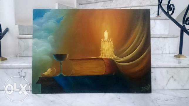 EPIPHANY - oil on canvas - 50*70 cm