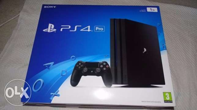 Sony PS4 Pro Console with FIFA 2017 and 12 months warranty.