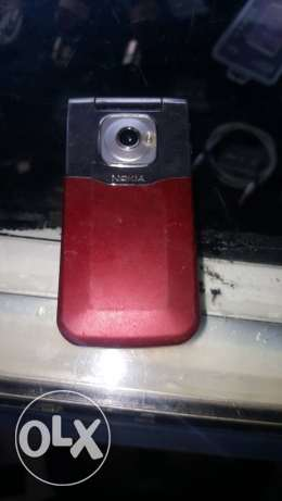 Nokia red mirror stanless steal need cover in the back only