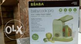 BEABA Babycook 4 in 1 food maker