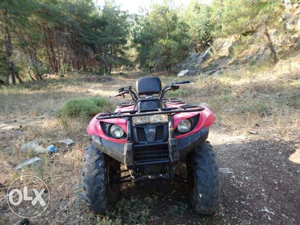 atv Yamaha GRIZZLY 450 SE