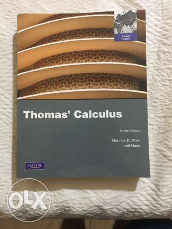 Thomas' Calculus twelfth edition pearson