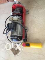 electrical winch with controller