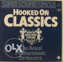 hooked on classics disco england top 10 vinyl lp