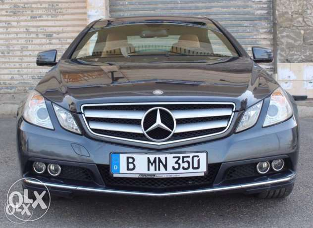 Mercedes E350 cgi coupe 2010 from Germany located in maghdouche