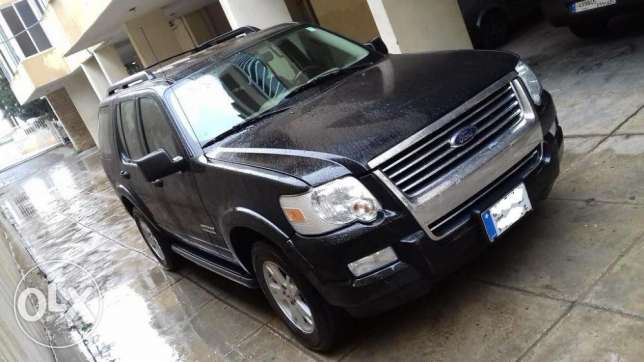 Ford Explorer XLT 2008 4x4 7seaters,masdar sherke,1owner.2017 PAID