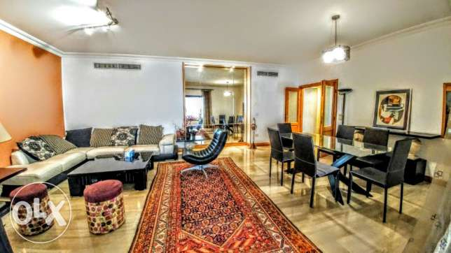 Beautiful furnished 3 bedroom apart Achrafieh