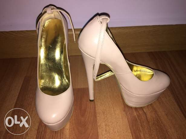light pink pumps بعبدا -  2