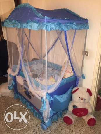 Baby bed for sale مجدليون -  2