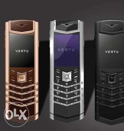 vertu mobile brand new