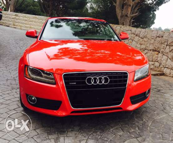 A5 Quattro 3.2 candy red coupe like new