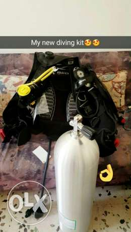 Diving kit (without the tank)