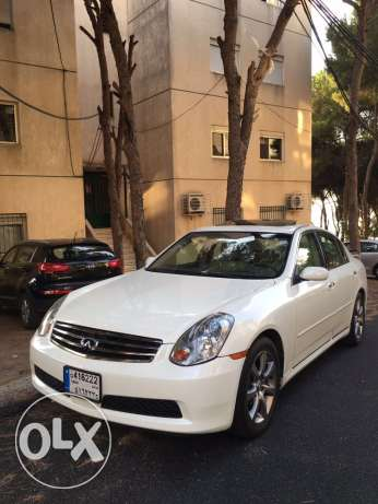 Infiniti G35 2006 Full Options Masdar L Sherke