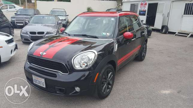 Mini Cooper S full 2012 full options ajnabieh original paint new arriv