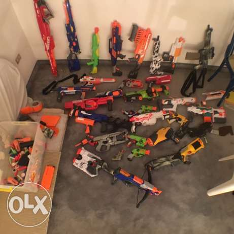 any modified nerf guns or nerf guns for sale ?