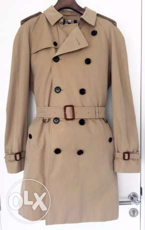 BURBERRY London, classic trench coat for men