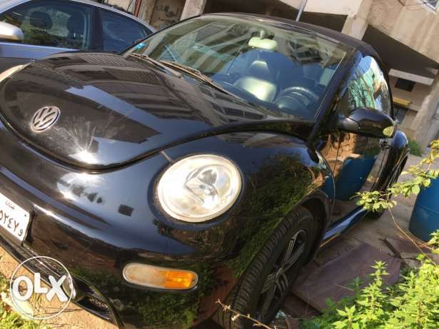 Beetle 2003 full option convertible