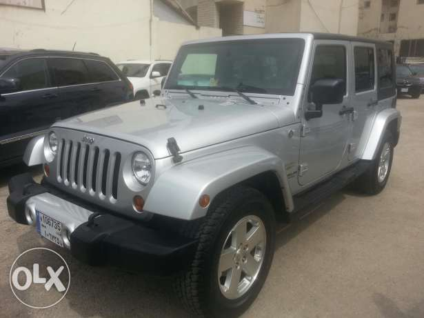Wrangler sahara unlimited