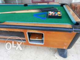 Billiards Table - Pool Table - طاولة بليار - For Sale