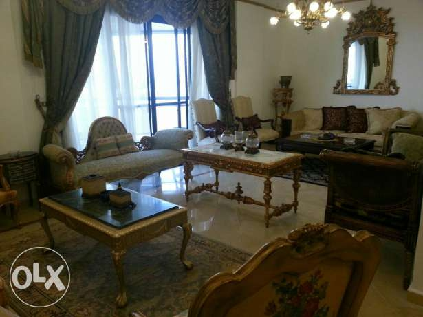 Triplex furnished apartment for rent in dawhet aramoun
