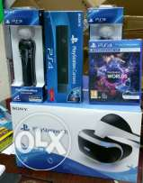 Play station 4 VR new and hot this price only vr no set with set +100$