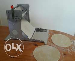 Manual dough roller flattener sheeter رقاقة عجين يدوية