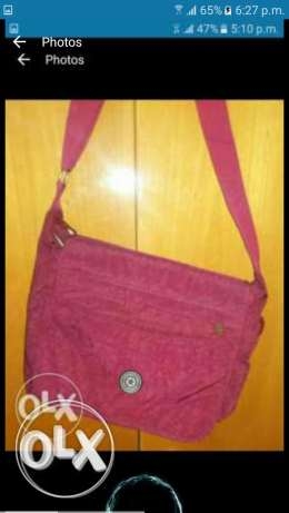 Red wine hand bag