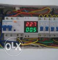 Dual LED display Voltage and current meter