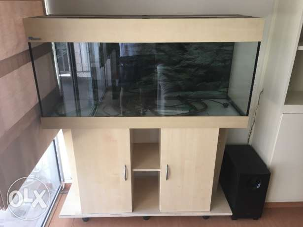 Aquarium 120cm + External Filter + Accessories