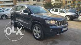Jeep Grand Cherokee 2011 only 40 000 KM مصدر الشركه full opption perfe
