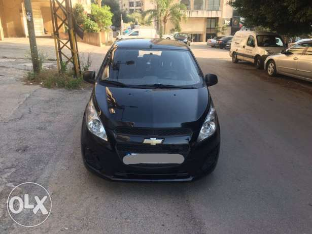 Chevrolet Spark Black 2013 Automatic 1.2, ONLY 47000 KM2
