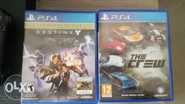 Destiny / The crew [PS4]