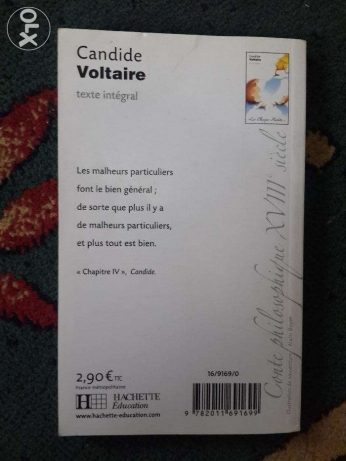 Candide by Voltaire - Phedre by Racine غازير -  5