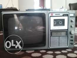 antique tv (balck & white _ radio _ casette)
