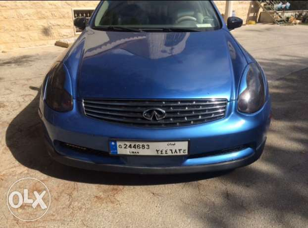 infinity g35 coupe mod 2003 technology verry clean car. الشوف -  3