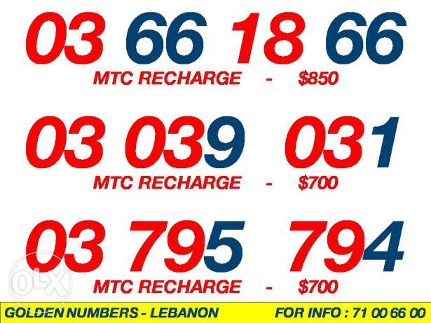 03 Numbers Mtc Touch