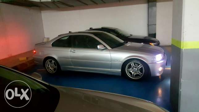 Bmw 328 ci mawjode be mante2et jneh be parking mestashfa lhariri