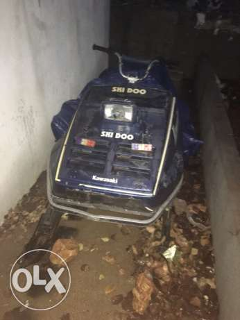 skidoo kawasaki 440 cc in excellent condition can trade البقاع الغربي -  1