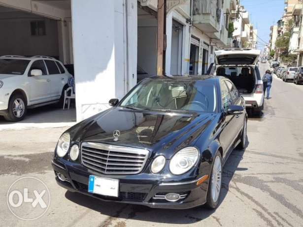 2007 Mercedes E350 Black/Black Leather Clean Carfax! All Service Done!