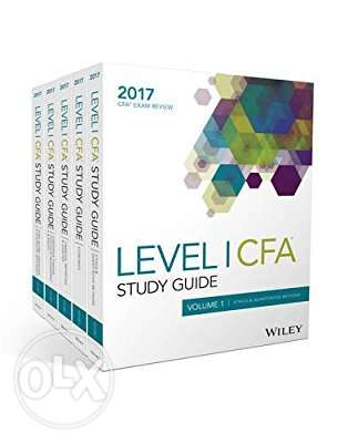 Wiley Wiley Study Guide for 2017 Level I CFA Exam