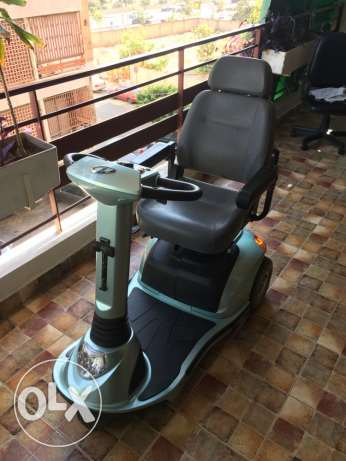 scooter for elders in very good condition
