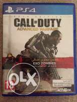 for PS4 call of duty advanced warfare + DLC pack maps and weapons