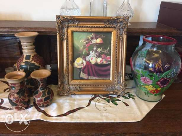 Set of 3 beautiful deco objects