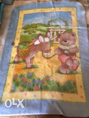baby blanket , made in Spain 80*110cm